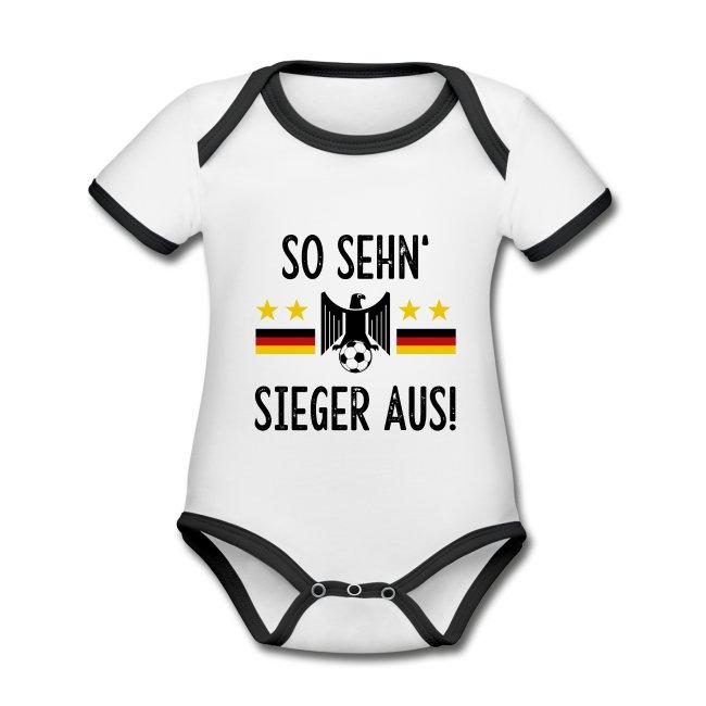 Fußball-WM 2022: Deutschland-Fan-Outfits für Kinder und für Väter