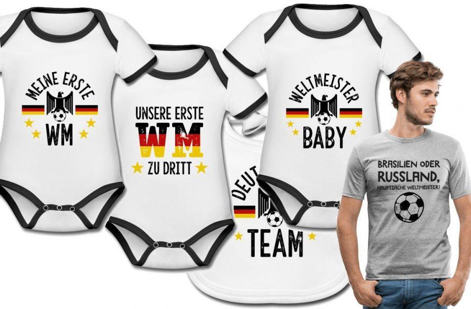 Fußball-WM 2022: Deutschland-Fan-Outfits für Kinder und für Papas