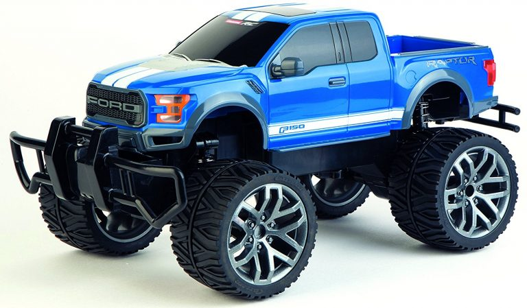 """Spielzeug-Test: Der ferngesteuerte Carrera-Truck """"Ford Raptor"""""""