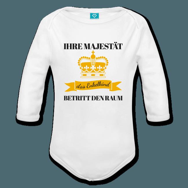 Baby Strampler: Majestät, das Enkelkind