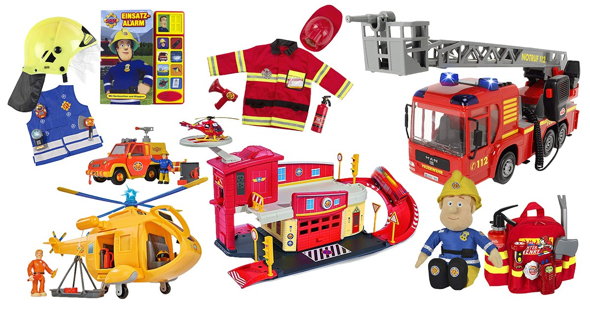 Feuerwehr-Spielzeug für Kinder