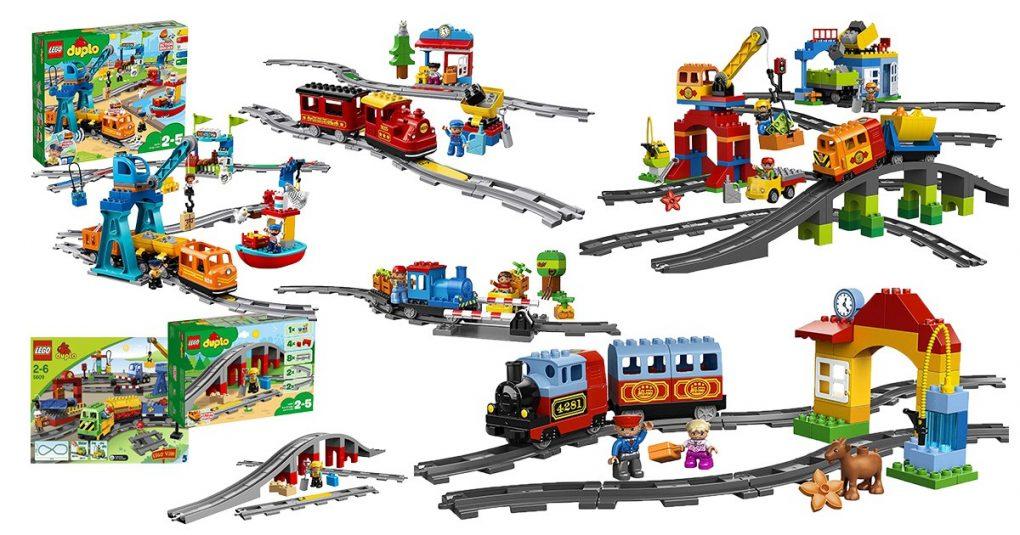 LEGO duplo Eisenbahnen