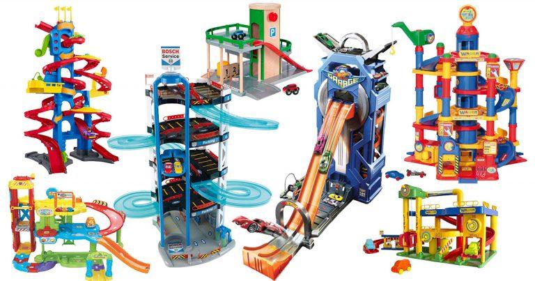Parkhaus-Spielzeug für Kinder
