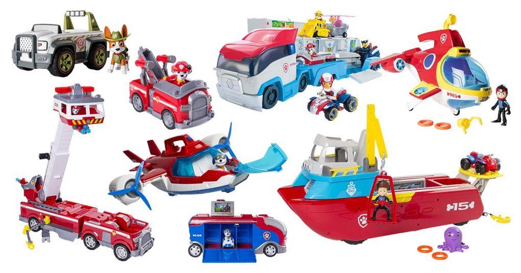 Paw Patrol Fahrzeuge