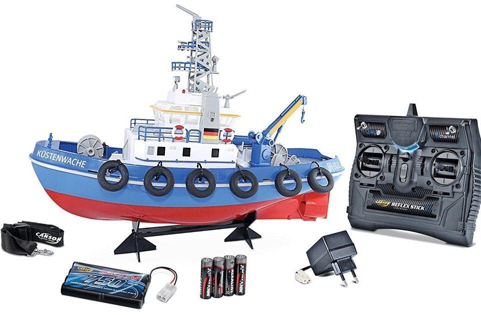 Ferngesteuertes Boot für Kinder
