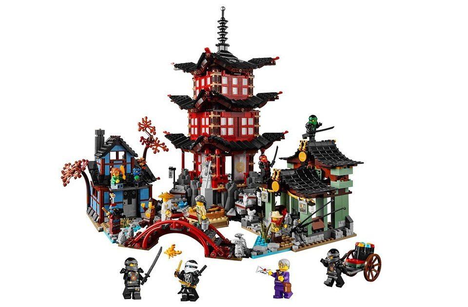LEGO Ninjago - Der Tempel von Airjitzu