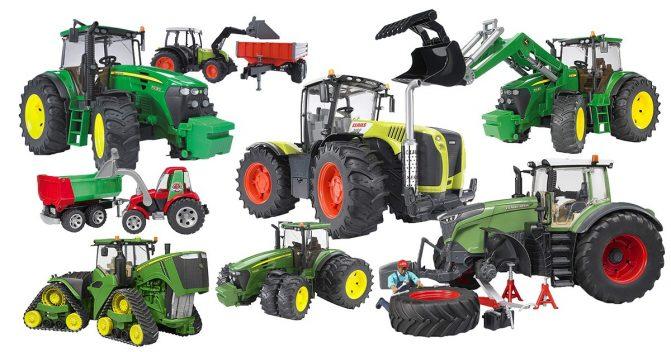 Bruder-Traktoren für Kinder