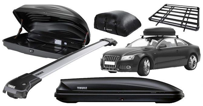 Dachgepäckträger fürs Auto [+Dachboxen]