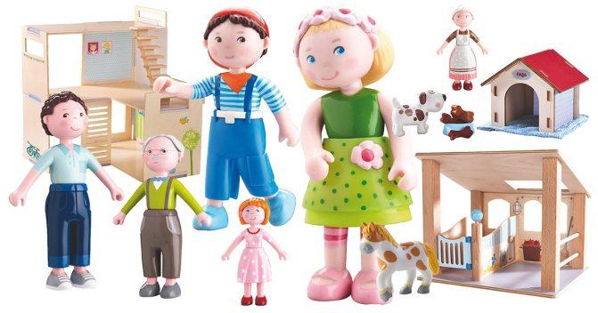 Haba Little Friends Spielfiguren