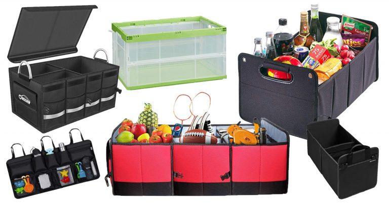 Kofferraum-Organizer fürs Familienauto