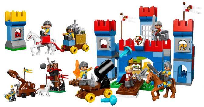 LEGO duplo Ritterburgen