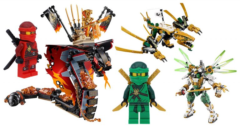 LEGO Ninjago Figuren