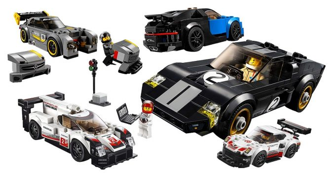 Autos von LEGO Speed Champions