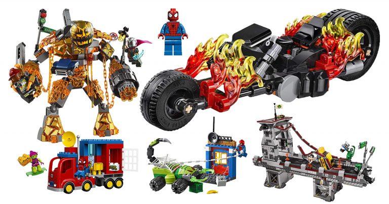 LEGO Spiderman Figuren & Bausätze