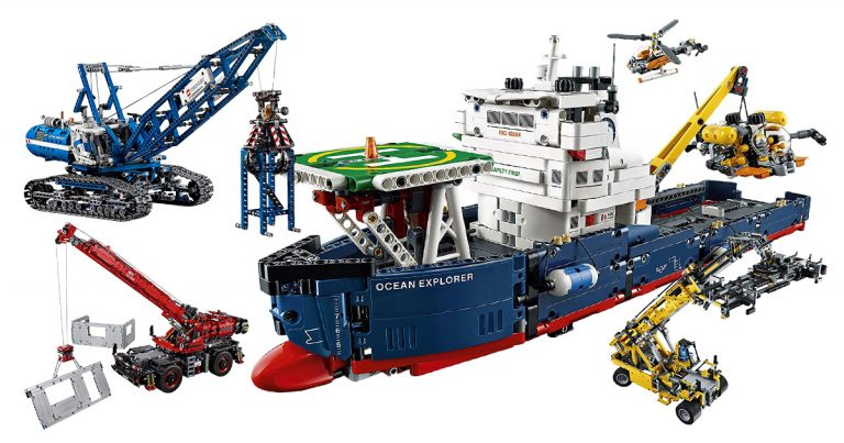 LEGO Technic Kräne