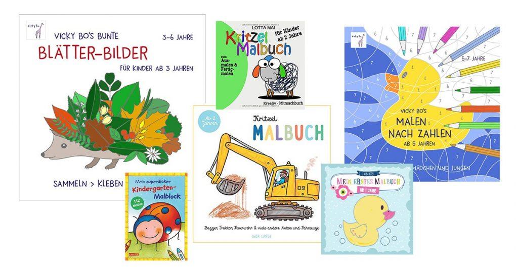 Malbücher für Kinder
