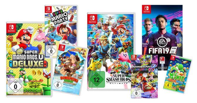 Nintendo Switch-Spiele für Kinder