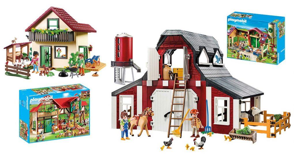 Playmobil-Bauernhöfe