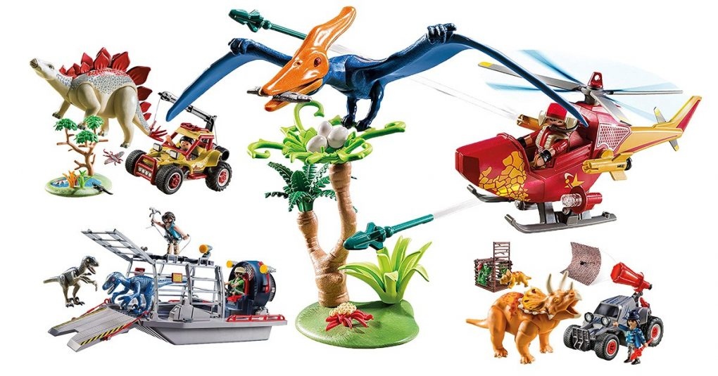 Playmobil-Dinosaurier-Sets
