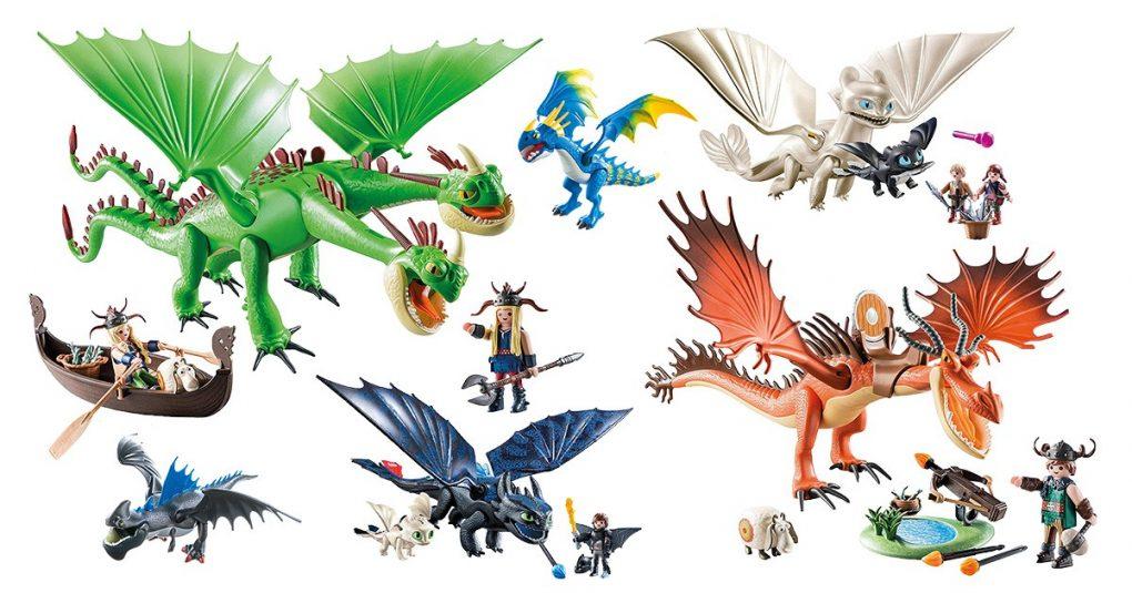 Playmobil-Dragons Themensets