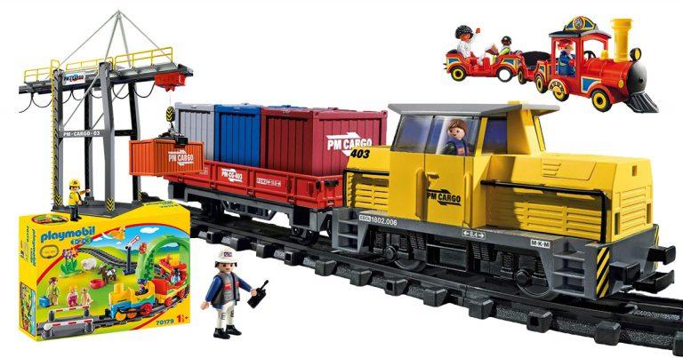 Playmobil-Eisenbahnen