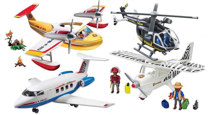 Playmobil-Flugzeuge