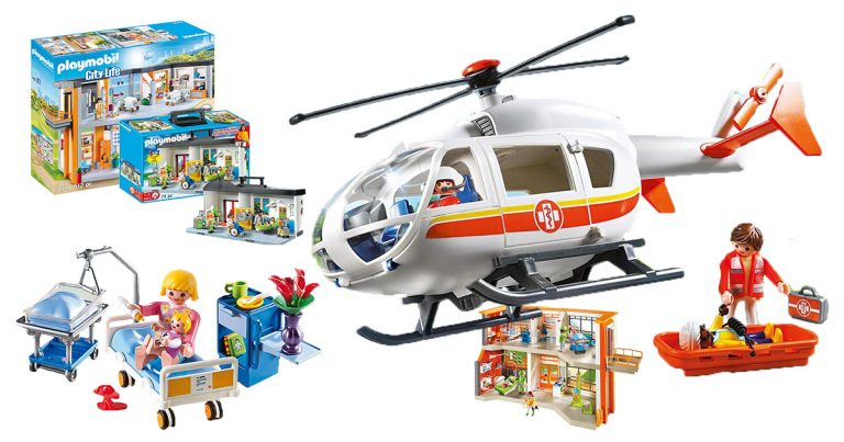 Playmobil-Krankenhäuser