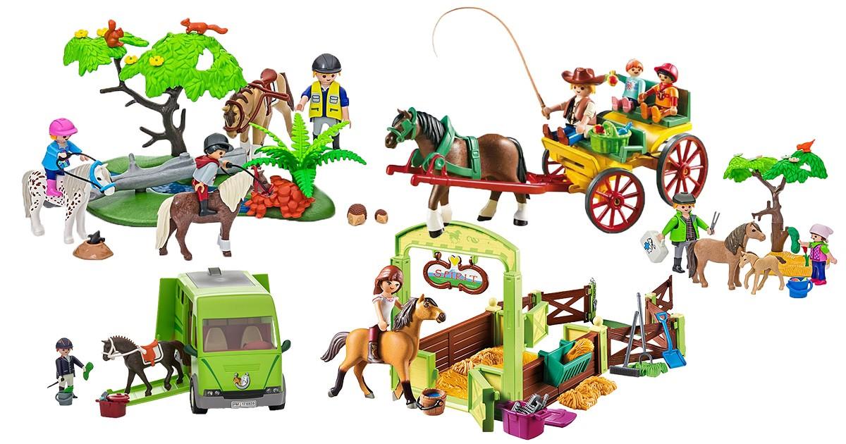 Playmobil-Pferde