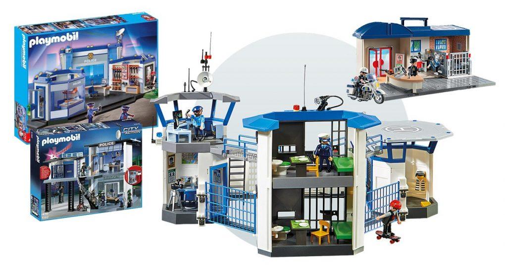 Playmobil-Polizeistationen