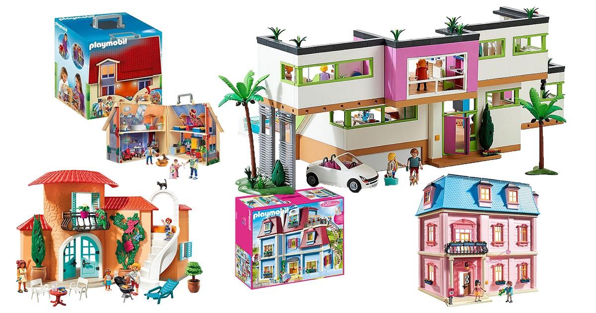 Playmobil-Puppenhäuser
