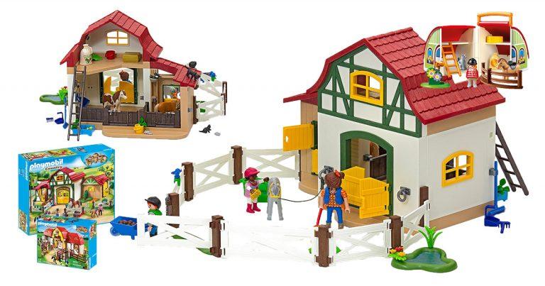 Playmobil-Reiterhöfe