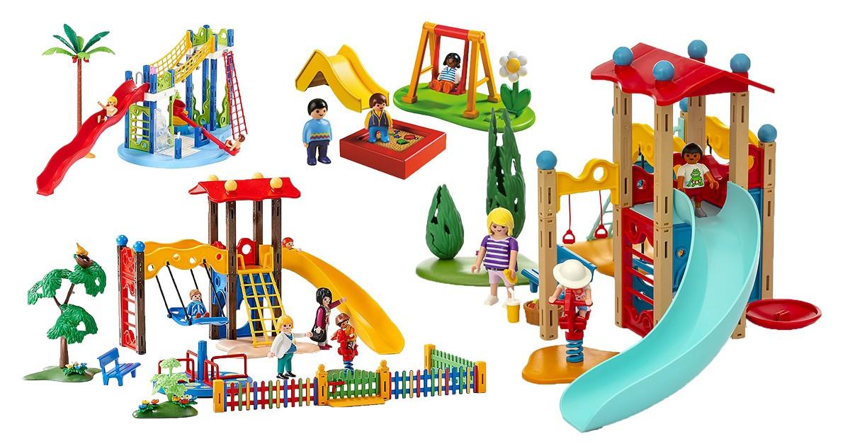 Playmobil-Spielplätze