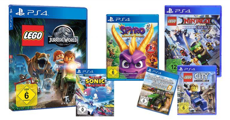PS4-Kinderspiele