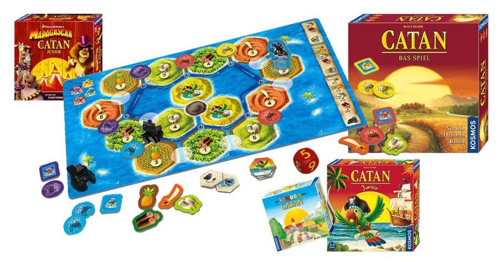 Siedler von Catan Spiele für Kinder
