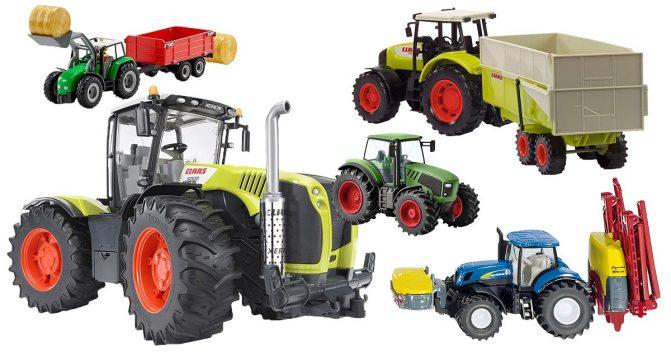 Spielzeug-Traktoren für Kinder