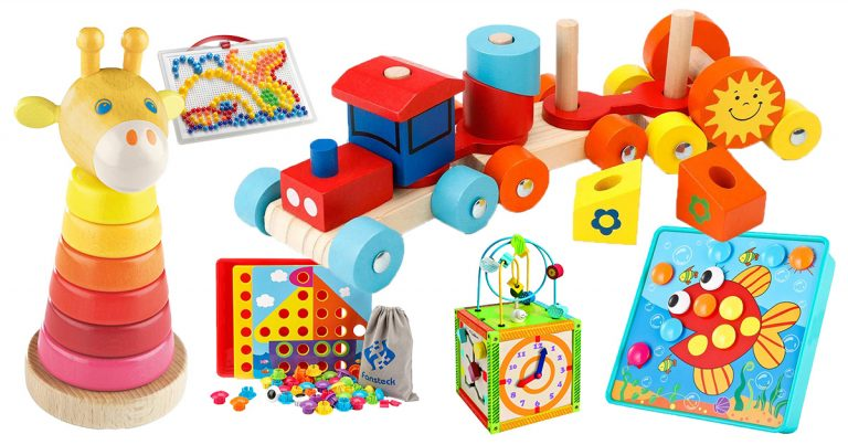 Steckspiele für Kinder