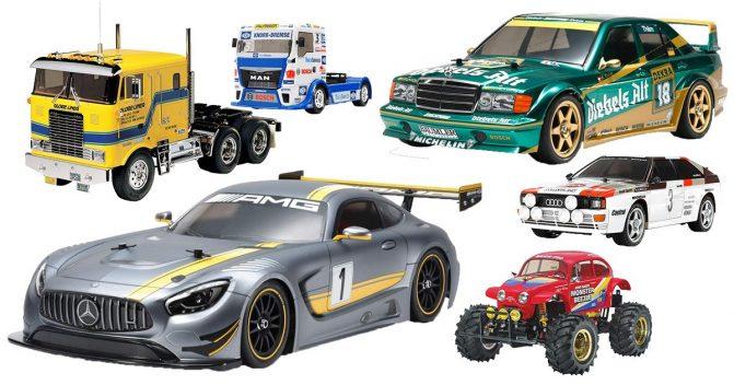 RC-Modelle von Tamiya