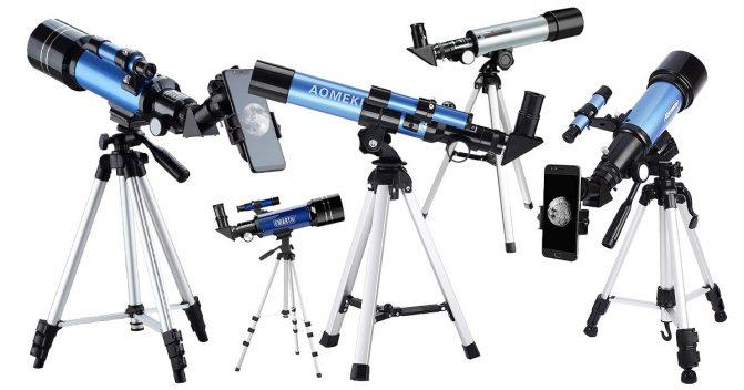 Teleskope für Kinder