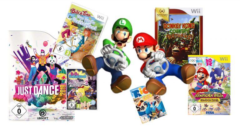 Wii-Spiele für Kinder