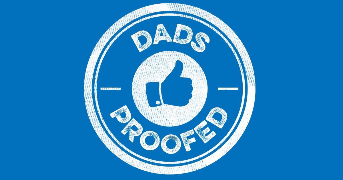 Dads Proofed Siegel - empfohlen von Vätern