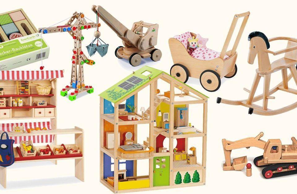 Holzspielzeug für Kinder