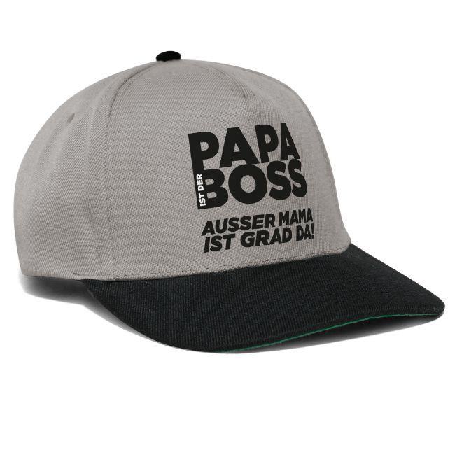Mode für Papa mit lustigen Sprüchen, Kappe
