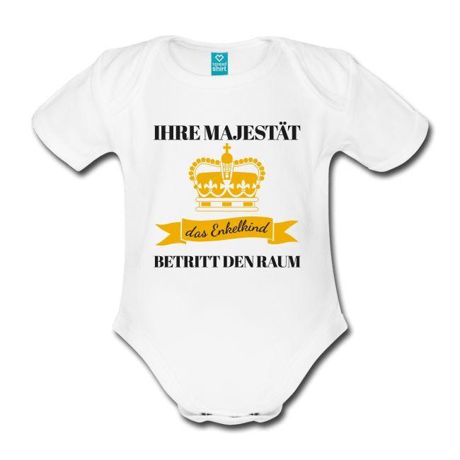 Babymode mit lustigen Sprüchen, Baby Strampler