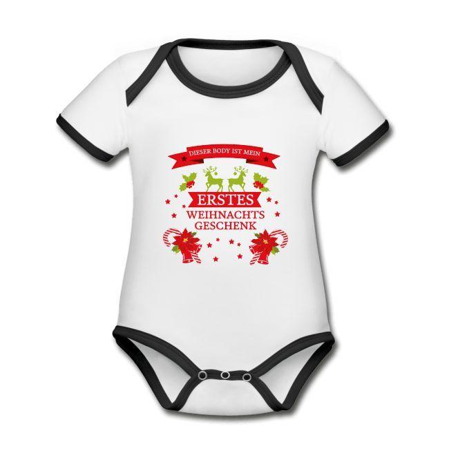 Babymode für Weihnachten, Baby Strampler