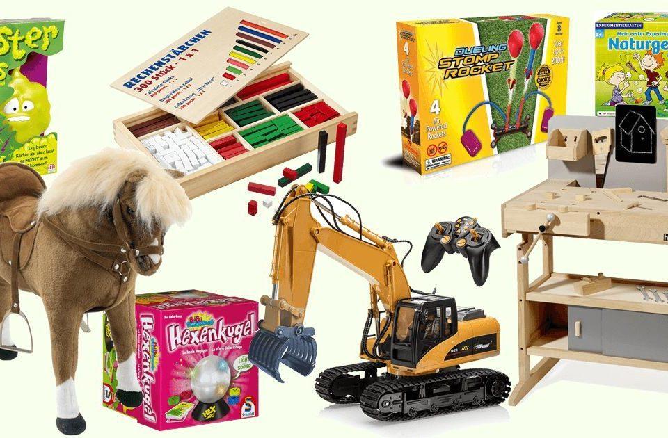 Geschenke für 6-jährige Kinder