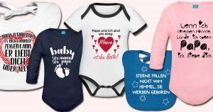 Süße Baby Sprüche als Geschenk