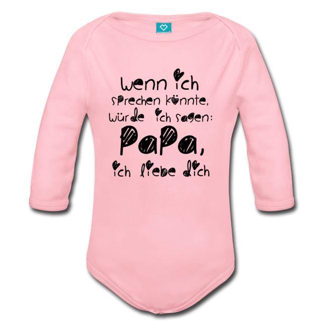 Liebe Geschenk für Papa, Babymode