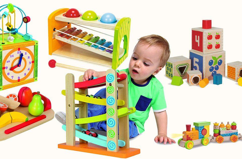 Eichhorn Holzspielzeug