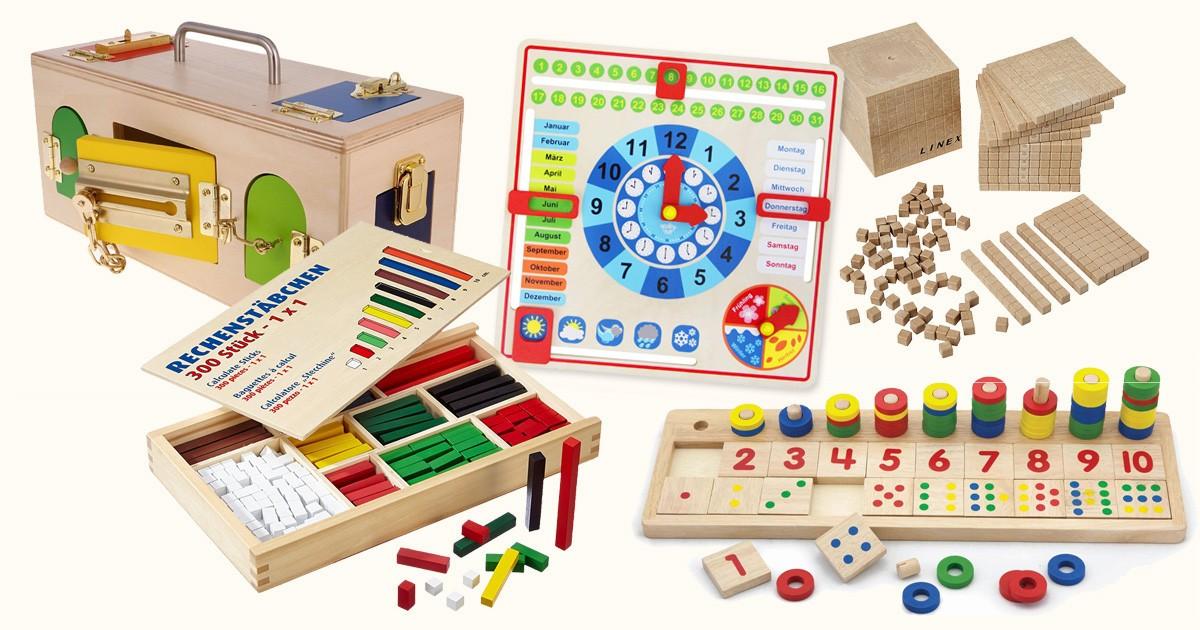 MONTESSORI Material: Die 17 besten Lernspielsachen | Dad's ...