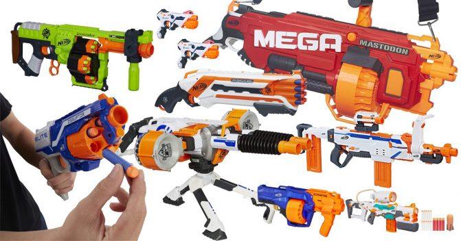 Die besten Nerf Guns